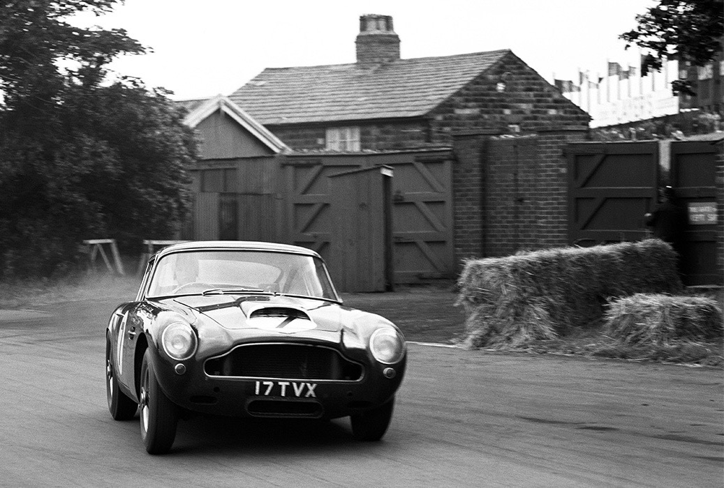 An original DB4 GT at speed | Aston Martin photo