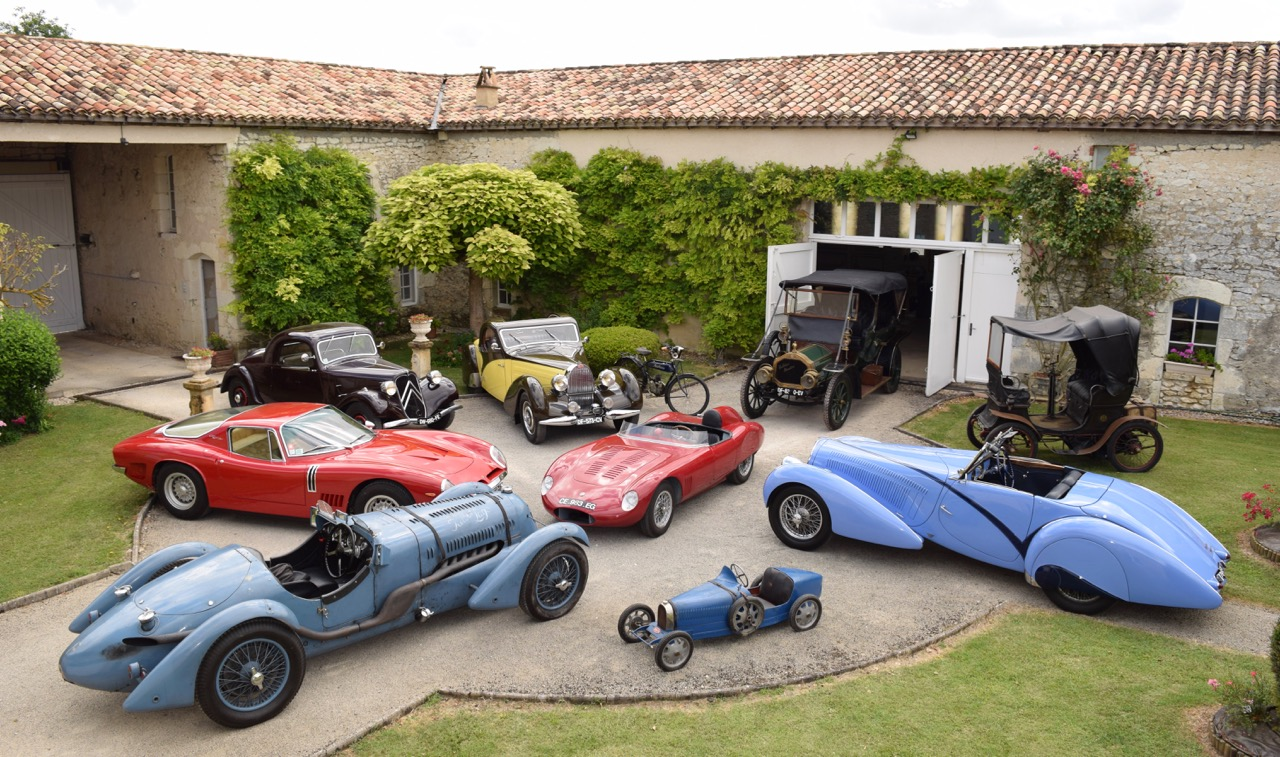 The Ogliastro collection vehicles headed to Artcurial's 2017 Retromobile auction | Artcurial Motorcars photos