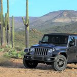 The Jeep Wrangler feels right at home in the Arizona desert | Bob Golfen photos