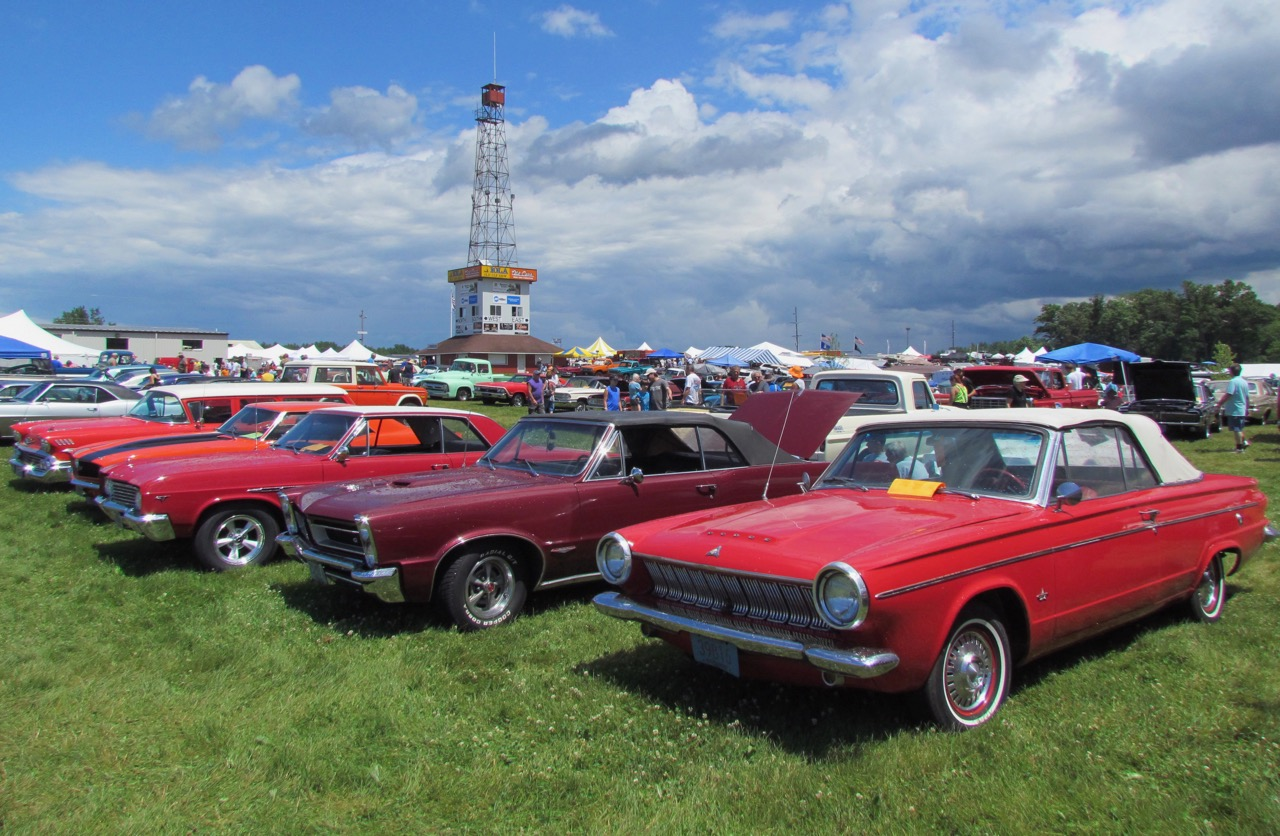 Krause provided land for annual and massive Iola Car Show