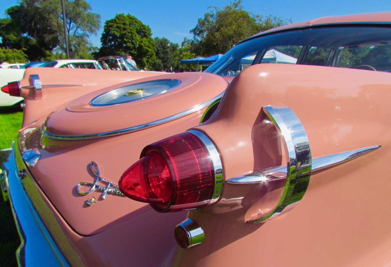 Iconic Imperial tail lamps at the 2016 Orphan Car Show in Ypsilanti, Michigan | Larry Edsall photo