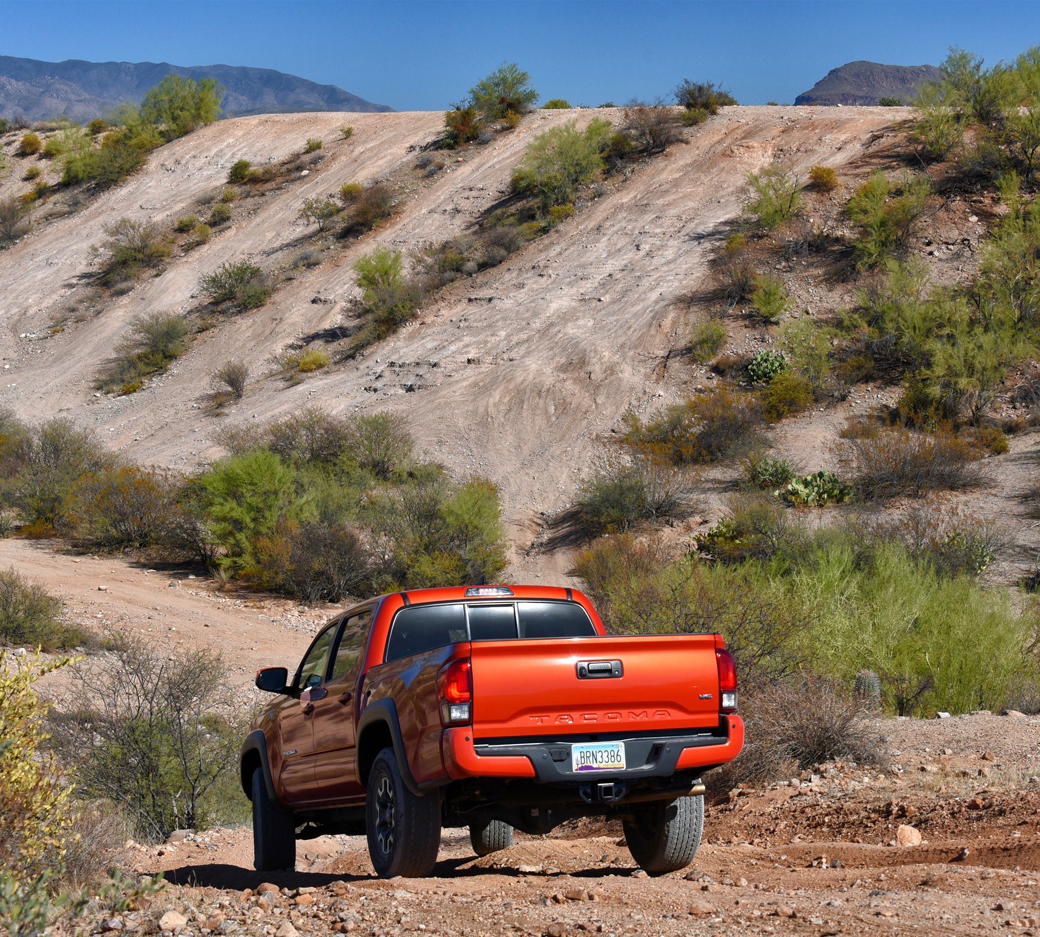Others reported truck very capable off pavement | Elias