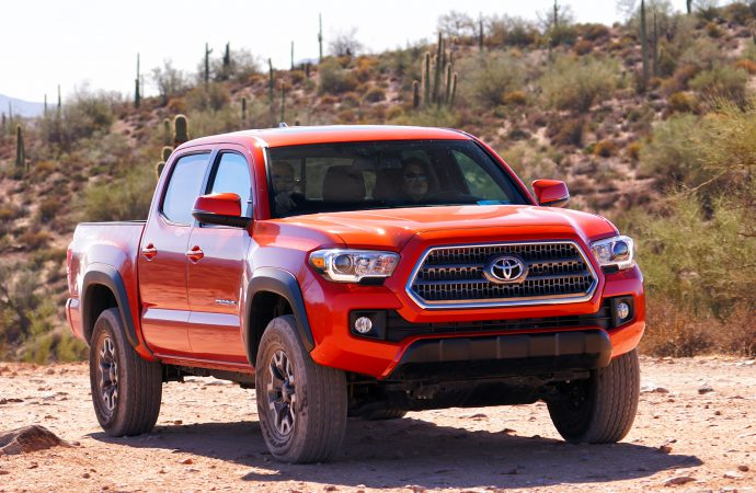 Driven: 2016 Toyota Tacoma TRD Off-Road 4×4 Double Cab