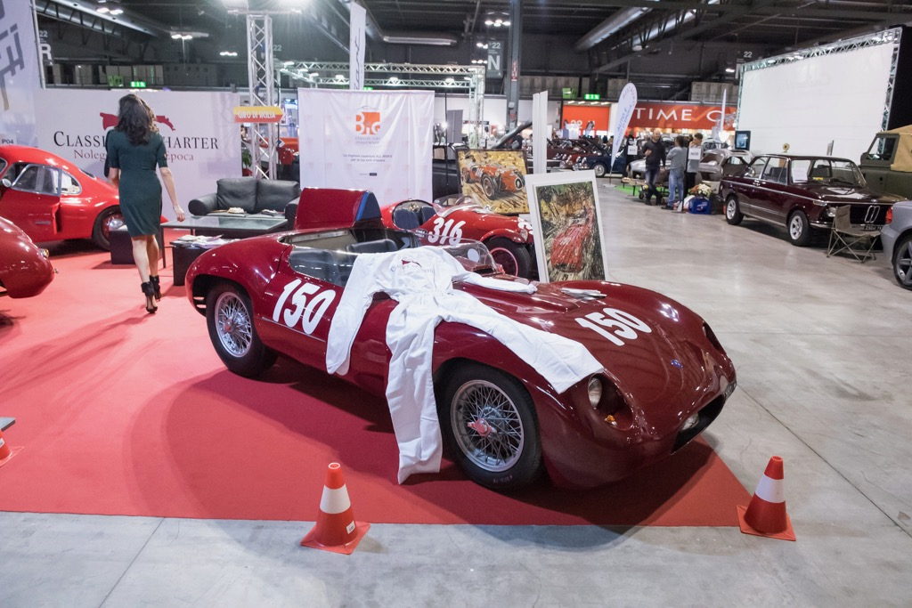 This Osca MT4 was available for rent if you want to do the Mille Miglia