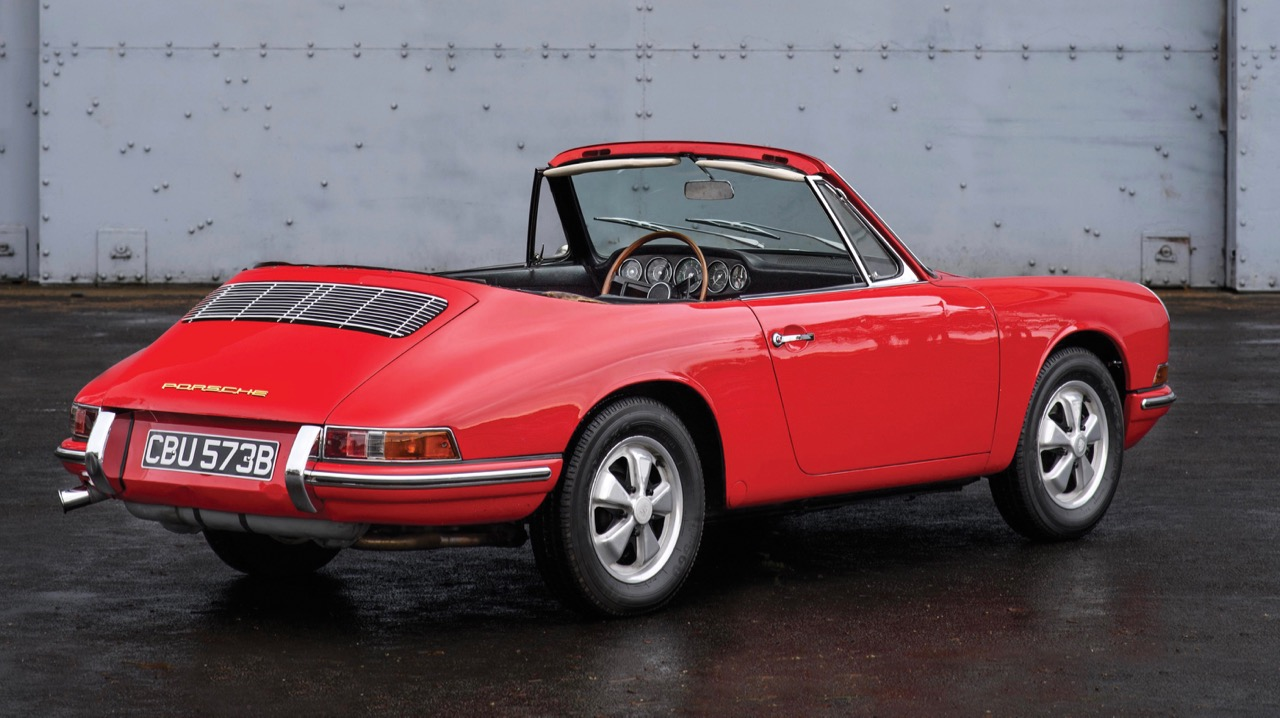 Car also was used in developing the Targa roof
