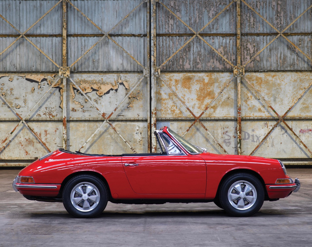 Of the 13 Porsche 901 prototypes, only this one was a cabriolet | RM Sotheby's photos by Tim Scott