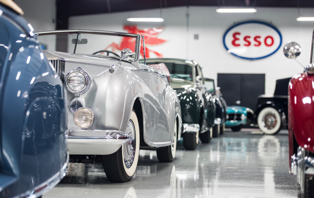 Some of the 58-car Orin Smith collection headed to Amelia Island auction | RM Sotheby's photo by Darin Schnabel
