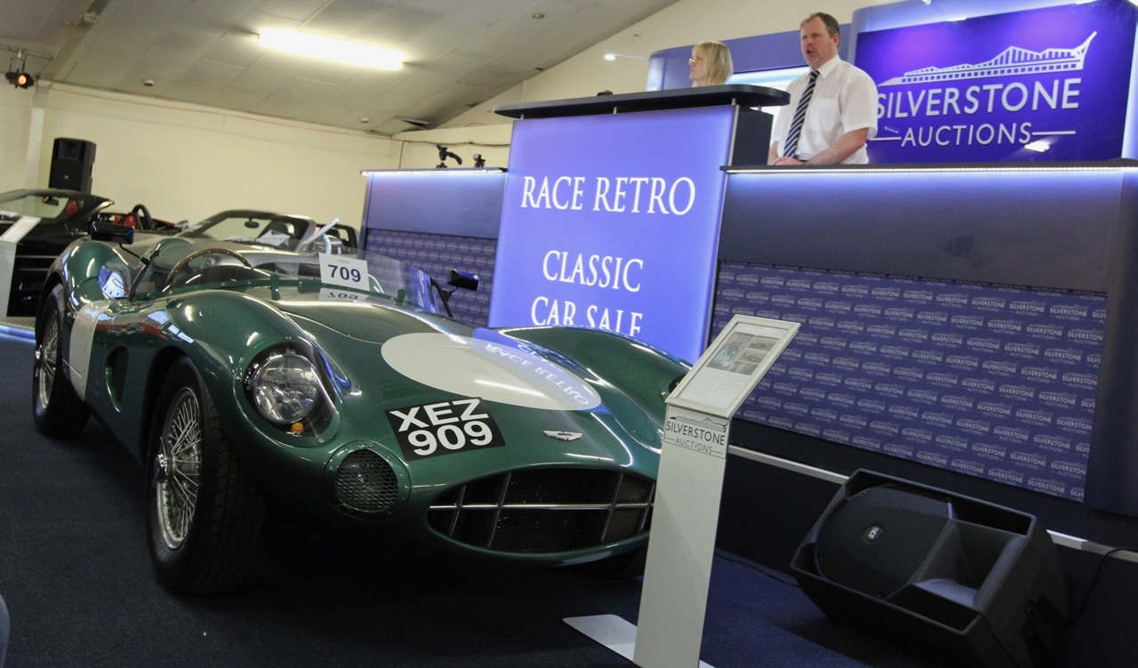 Race Retro is among Silverstone's annual sales