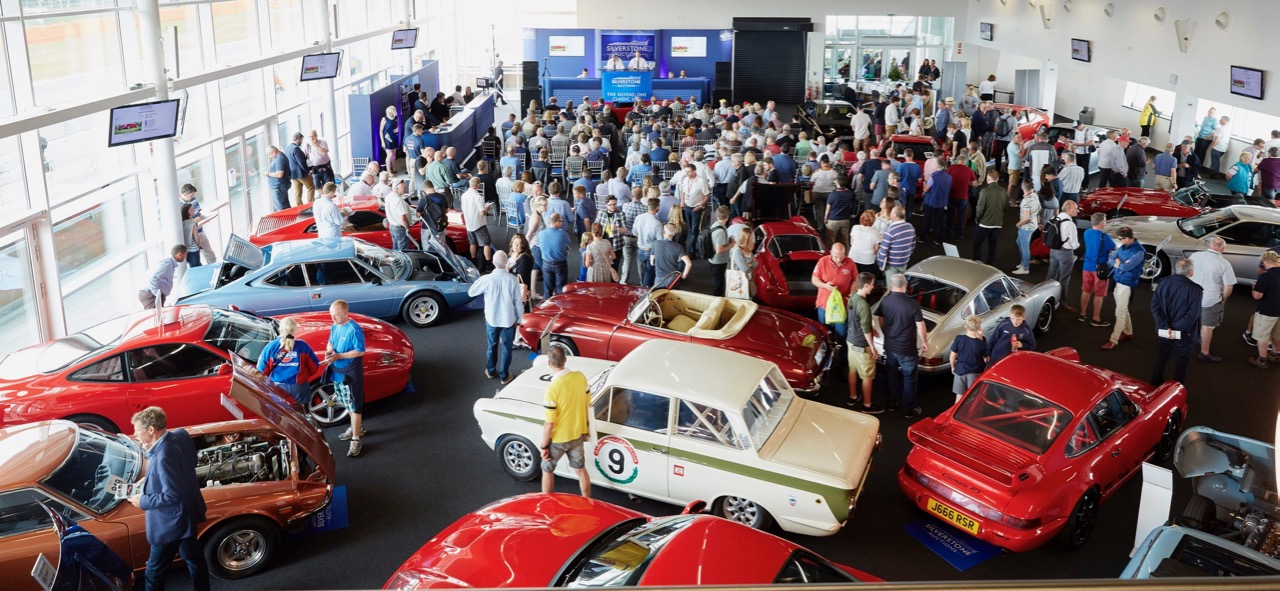Preview at the Silverstone Classic auction