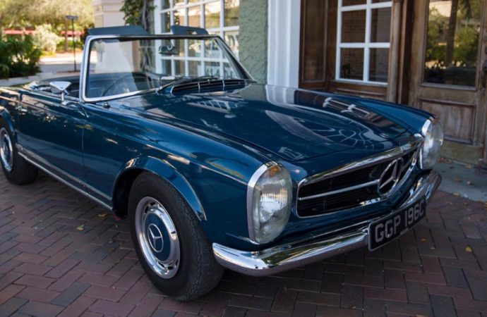 'Baby you can drive my car' — John Lennon's 230SL headed to Worldwide Scottsdale sale