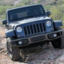 Driven: Jeep Wrangler Unlimited 75th Anniversary Edition