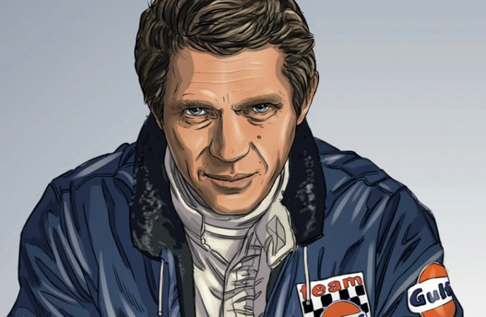 Steve McQueen's 'Le Mans' inspires a graphic novel
