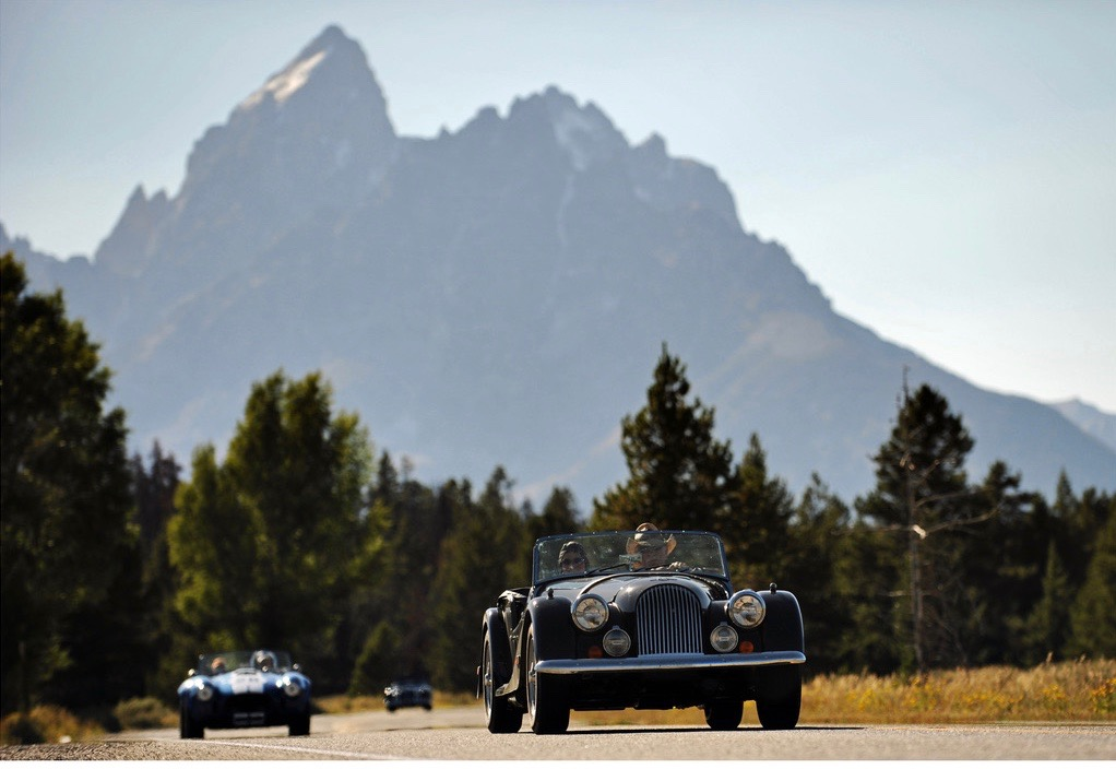 Going to the Sun vintage rally includes spectacular mountain scenery | rally photos