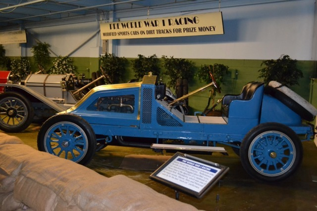 1907 Renault takes its place in museum | Bob 'Shiny' Goldstein photos