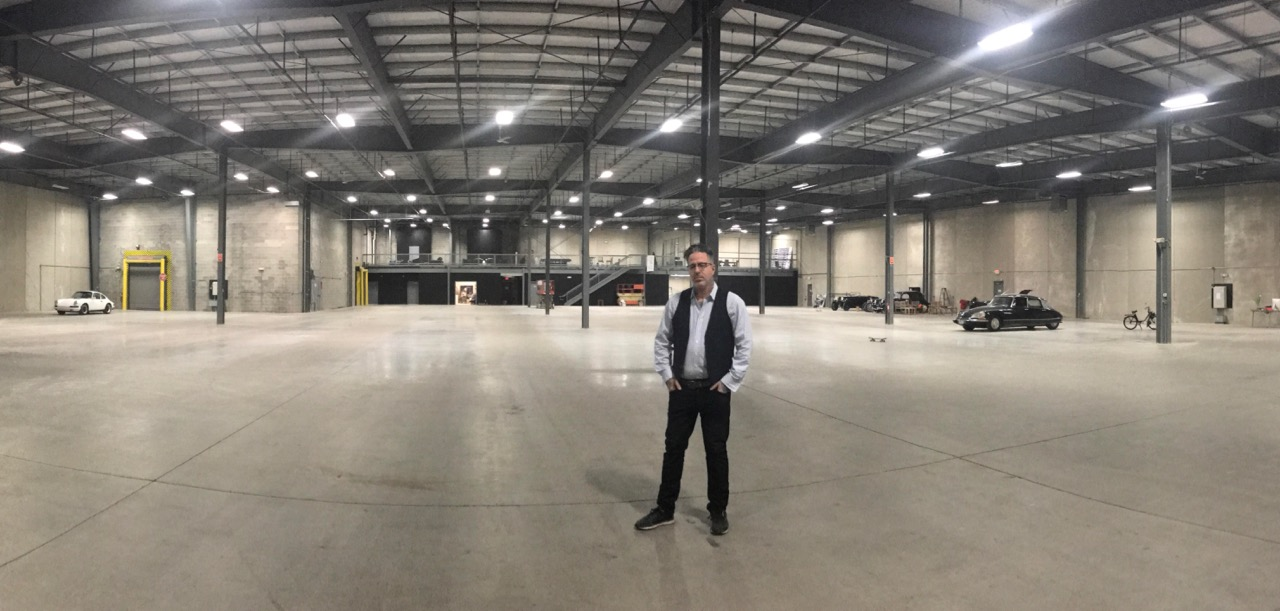 Bradley Farrell preparing for the Finest's first auction in its Connecticut facility | The Finest photos