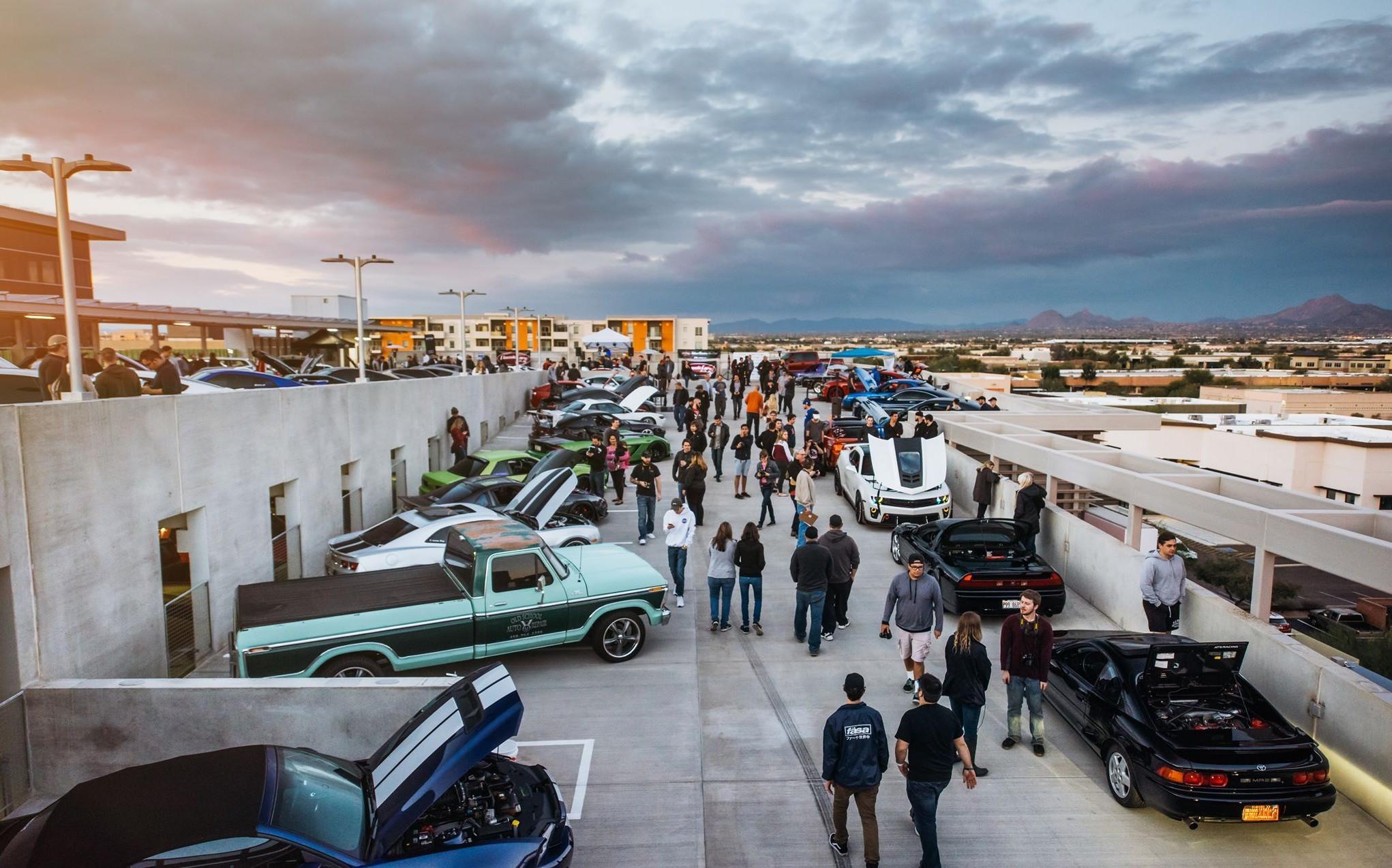 Future Classics Car Show packs rooftop garage   ClassicCars.com