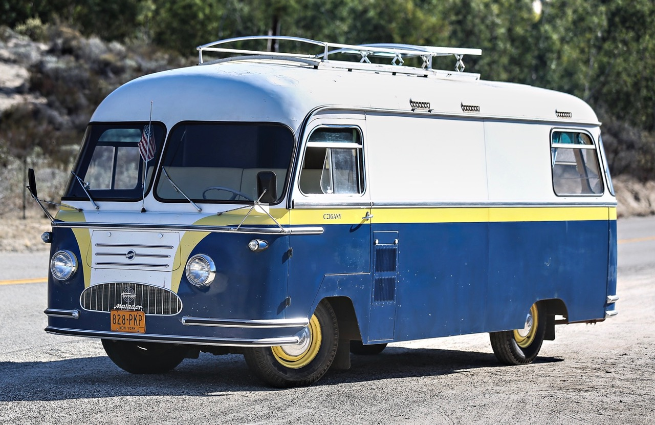 Tempo Matador is a vintage RV | Gooding & Co. photo by Mathieu Heurtault