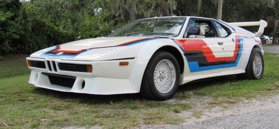 1979 BMW M1 has Procar racing bodywork