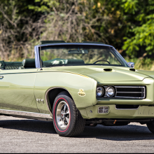 Countdown to Barrett-Jackson Scottsdale 2017: 1969 Pontiac GTO Judge convertible