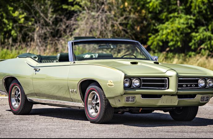Countdown to Barrett-Jackson Scottsdale 2017: 1969 Pontiac GTO Judge convertible