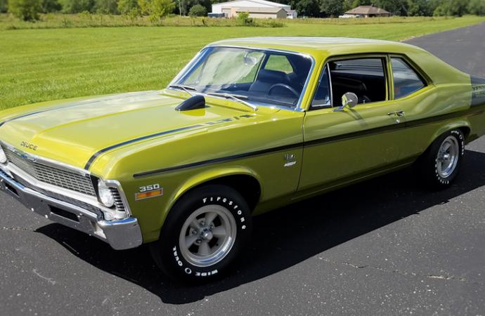 Countdown to Barrett-Jackson Scottsdale 2017: 1970 Chevrolet Nova 'Yenko Deuce'