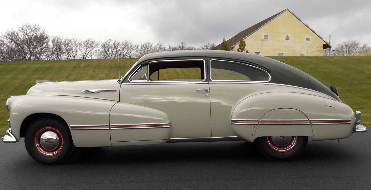 1942 Oldsmobile was the first car equipped with GM's revolutionary Hydra-Matic transmission | Nick Kurczewski photos