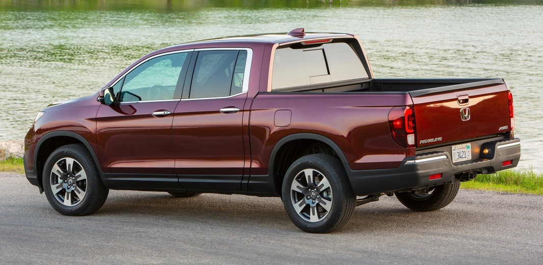 Ridgeline is having a crossover utility with a truck bed instead of third-row seat