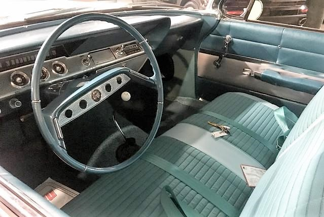 The Impala's interior looks very nice