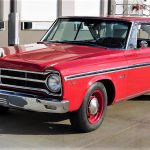 The Plymouth Belvedere packs a 440 cid big-block V8