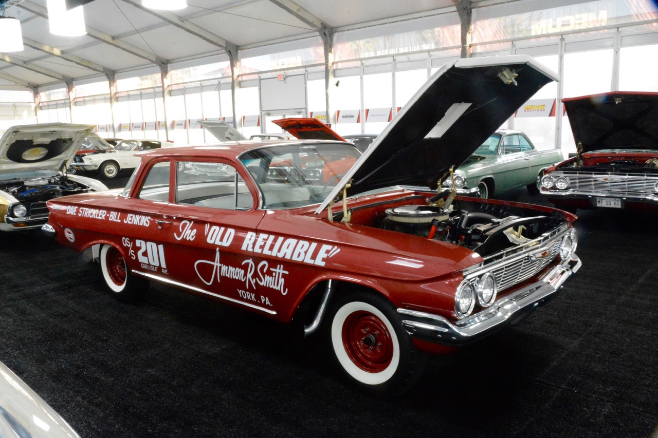 Amazing drag racing vehicles are crossing the block at Mecum's Kissimmee auction | Jim McCraw photos