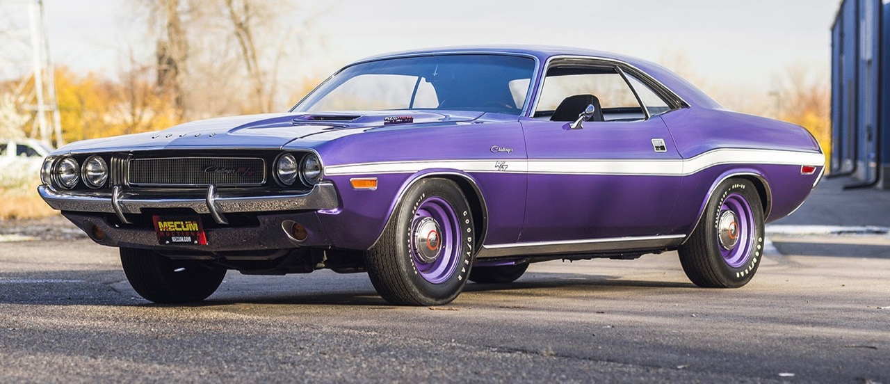 Hemi-powered 1970 Dodge Challenger R/T