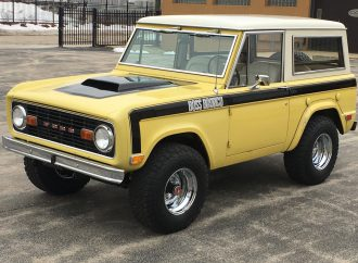 A Shelby Bronco? There was one, and a Boss Bronco as well