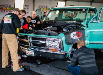 RideTech transforms a truck in 48 hours at Barrett-Jackson