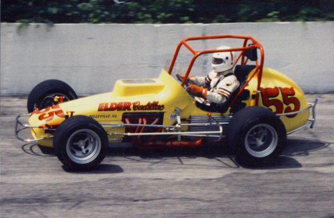 Driven: USAC sprint car, with bonus laps in a real Indy racer