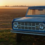 First Ford Bronco_Front Sunset