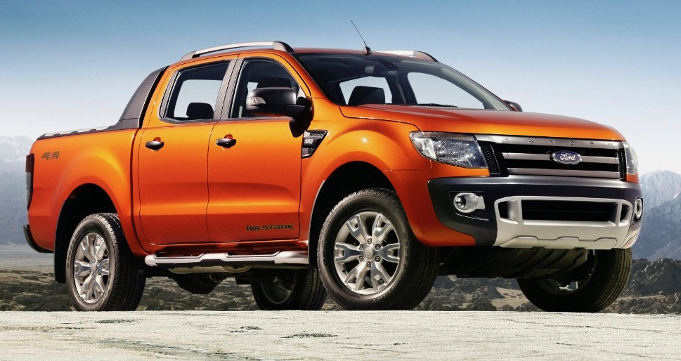 The latest Ford Ranger isn't sold in the U.S. market