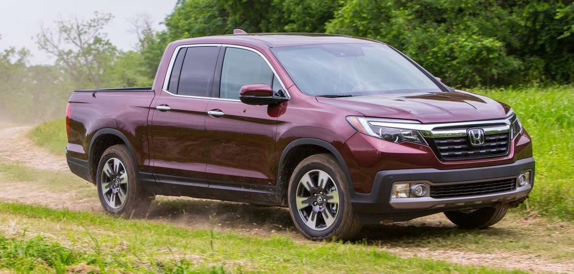 Honda offers all-new and second-generation Ridgeline pickup for 2017 | Honda photos
