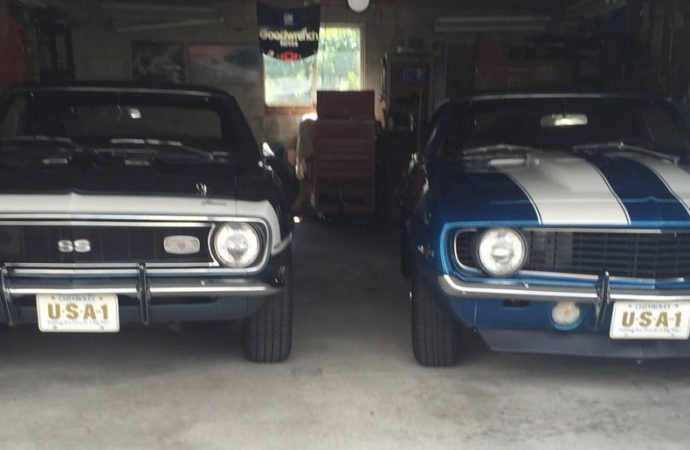 My Classic Car: Pete's pair of Camaros