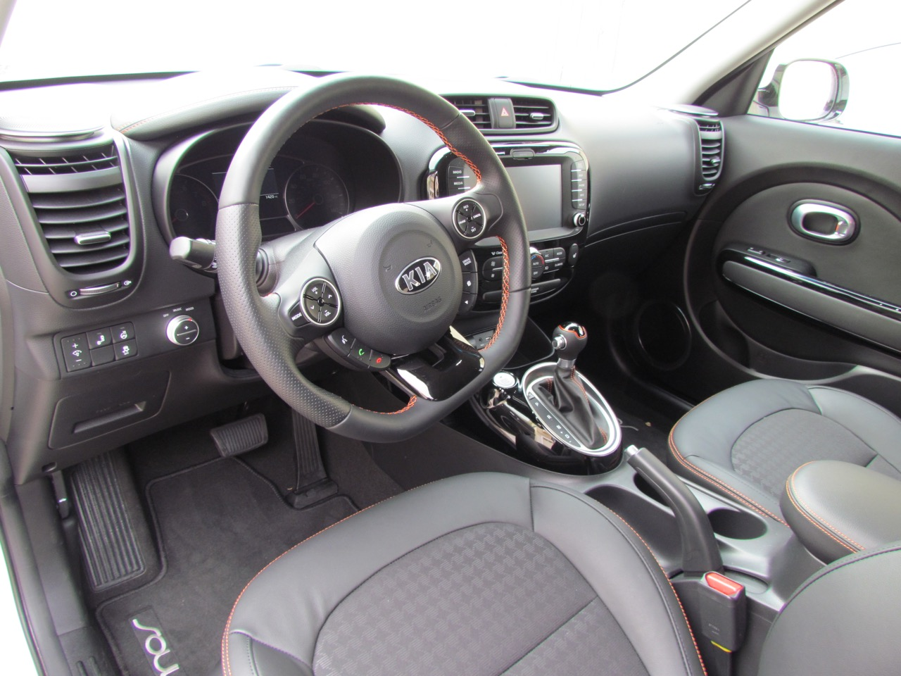 Interior is roomy and comfortable