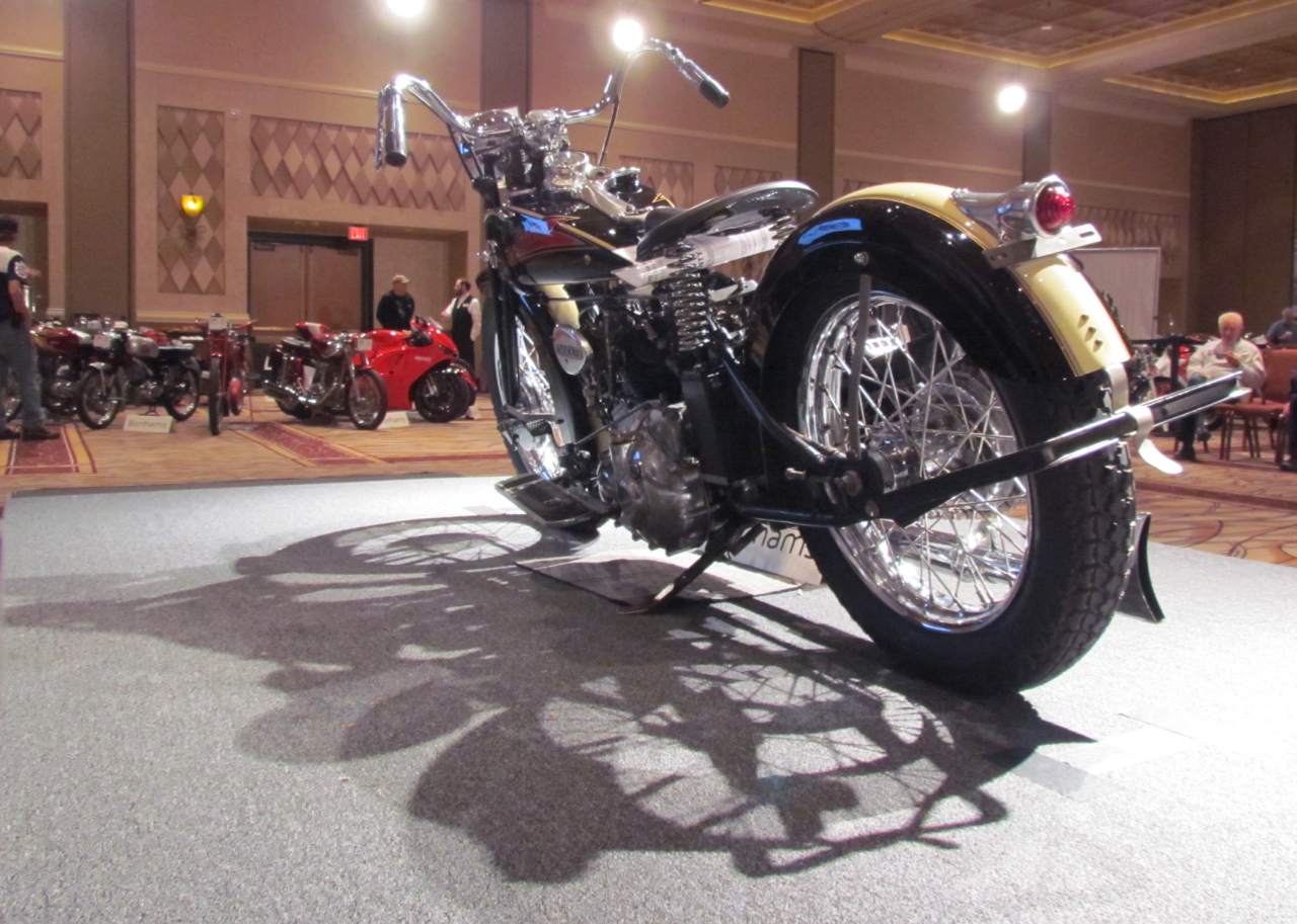 A Crocker overshadows many collectible motorcycles marques | Larry Edsall photos