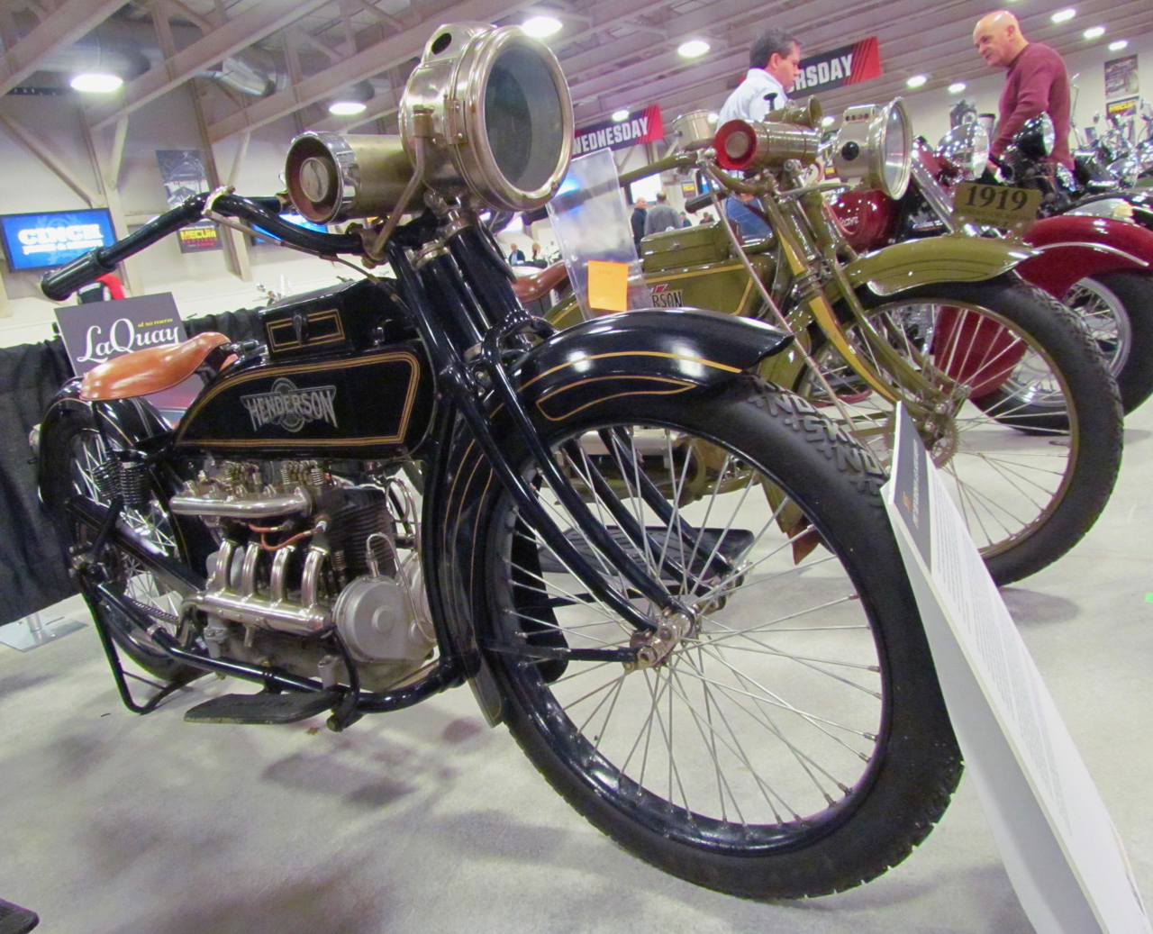 Steve McQueen owned this 1917 Henderson Four