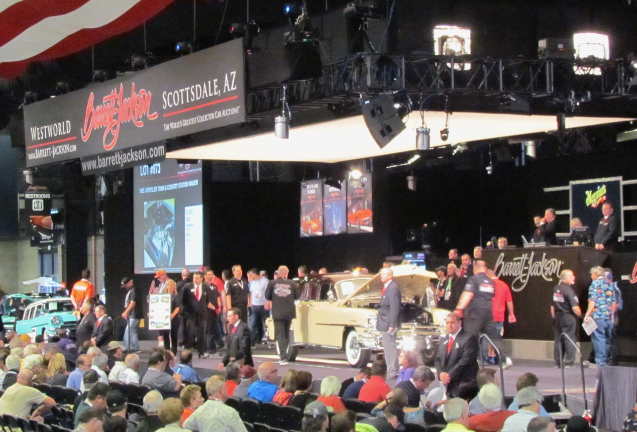 Barrett-Jackson has been the anchor of Arizona Car Week for nearly 50 years | Larry Edsall photos
