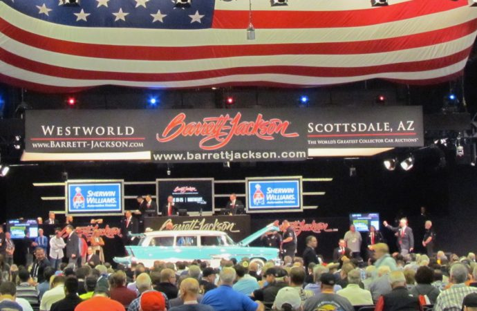 Economic impact: Barrett-Jackson Scottsdale sale boosts local economy by $168 million, study reports
