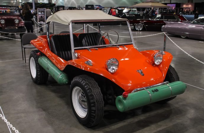 This car matters: Meyers and his Manx at the Classic Auto Show