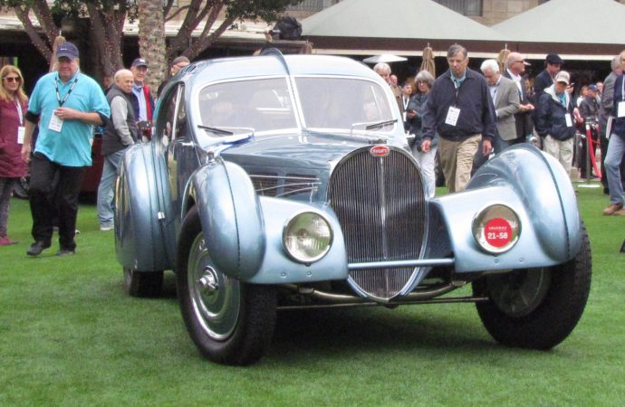 Bugatti Atlantic wins best of show at Arizona Concours