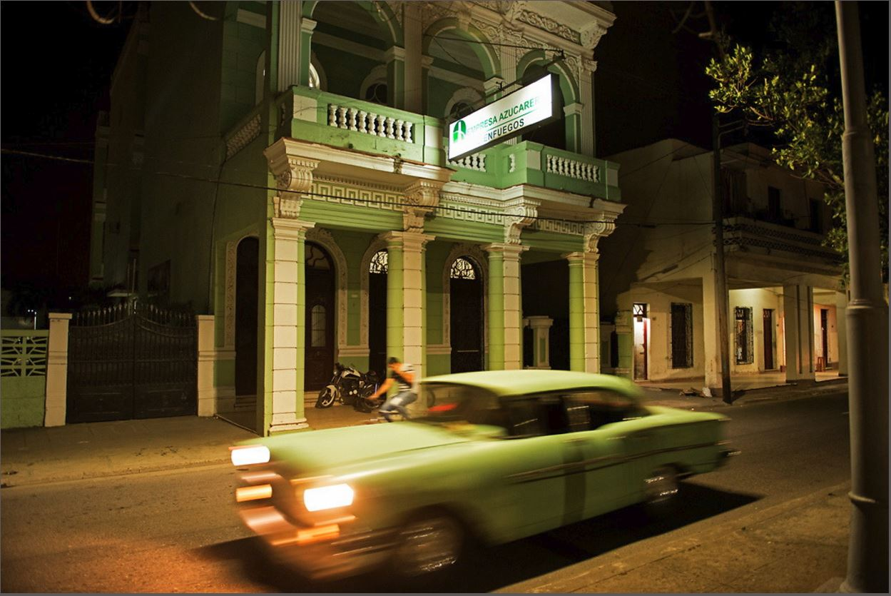 Green Car, by John Conn, photographic print, 24 x 36 inches