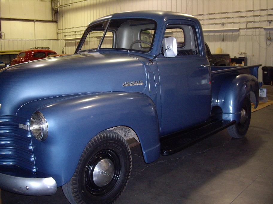 'Old Blue' has been owned by two families since new