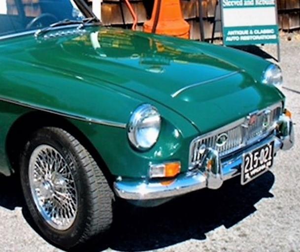 1969 MGC GT   ClassicCars com Journal