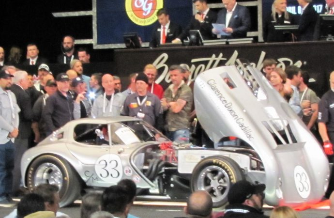 Super-sized Barrett-Jackson is bucket-list auction that has it all