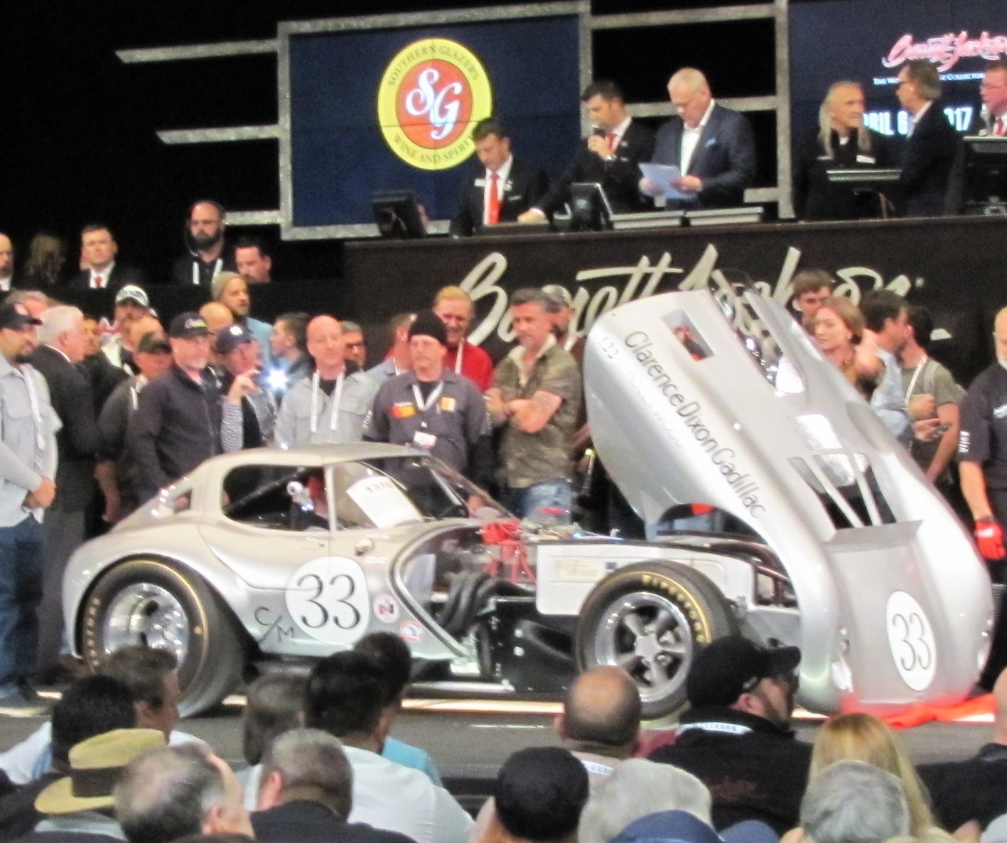 Super-sized Barrett-Jackson Is Bucket-list Auction That